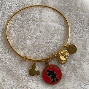 Alex and Ani Disney Gold Mickey Bracelet 2014